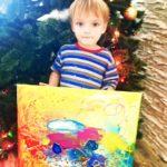 Спонтанное рисование для малышей